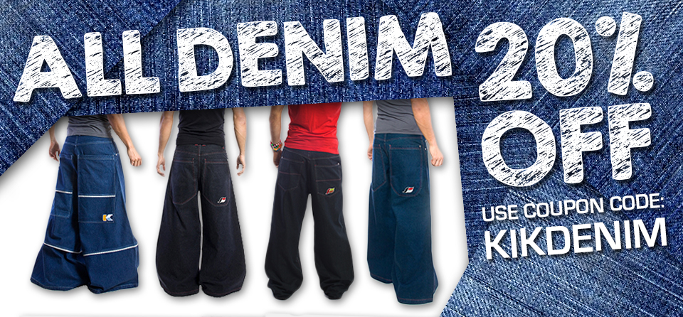 All Kikwear Denim on sale!