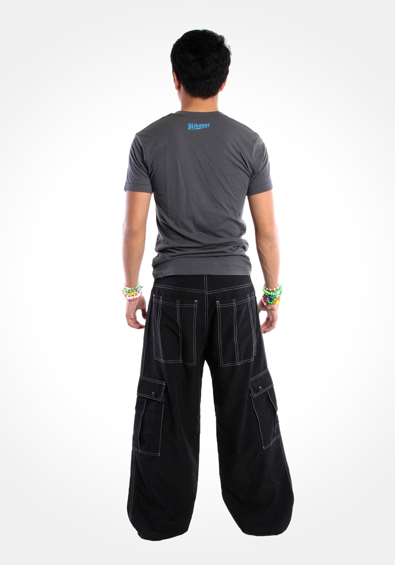 Kikwear 23 Microsuede Cargo Pants Classic Kik Phat Pants