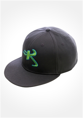 Charcoal colored Astro K Kikwear logo cap