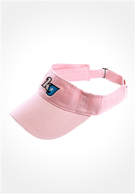 Light Pink KG Star Visor