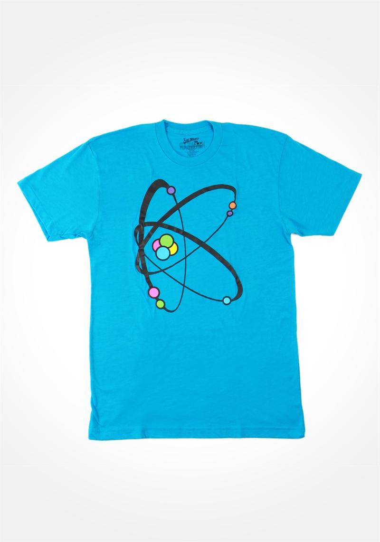 Neon Blue Atomic K T Shirt