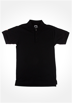 Black Kik Back Polo