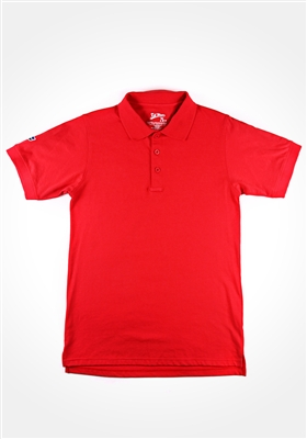 Red Kik Back Polo