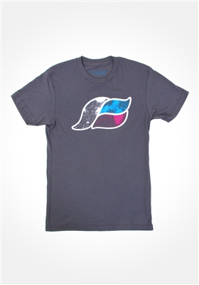 Asphalt Space Wave T-shirt