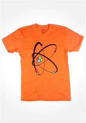Orange Atomic K T-Shirt