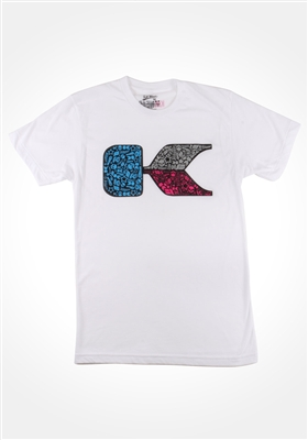 White Scramble Shirt