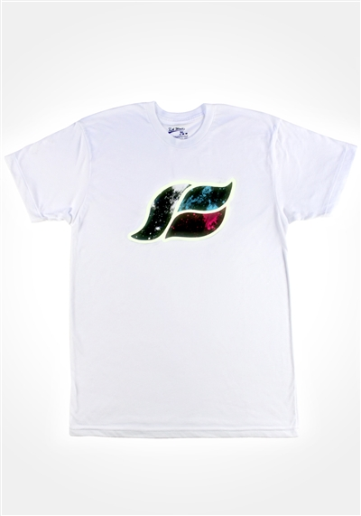 Glowing Space Wave T-Shirt